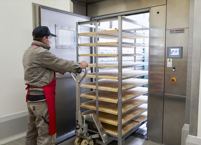 Sanificazione controllata formaggio
