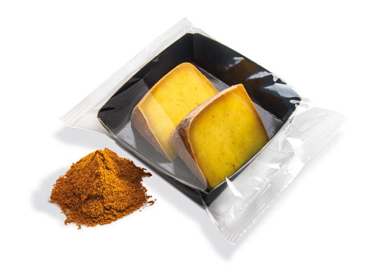 formaggi porzionati al curry