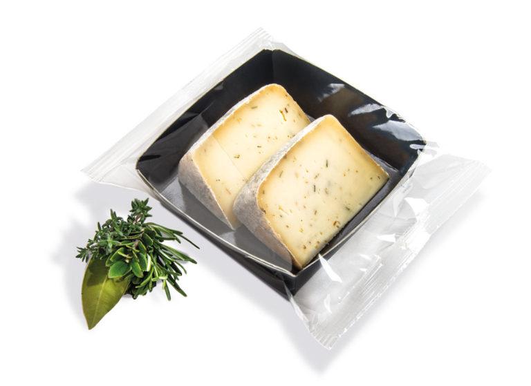 formaggi porzionati alle erbe aromatiche