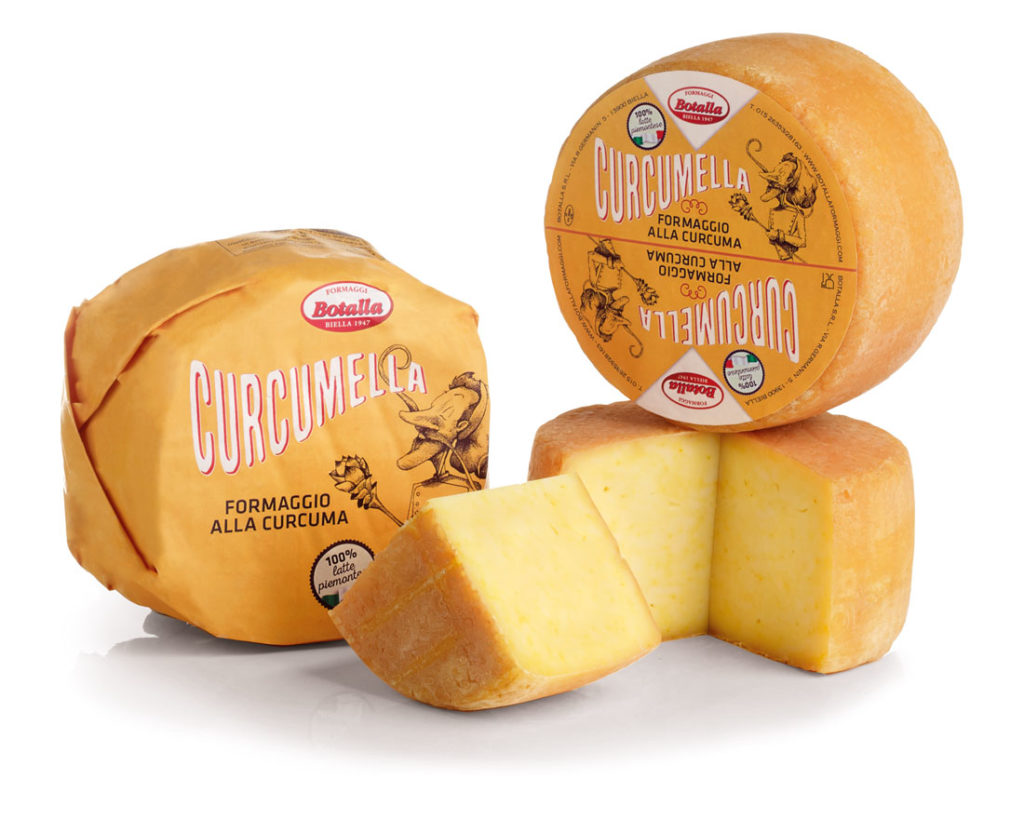 formaggio alla curcuma