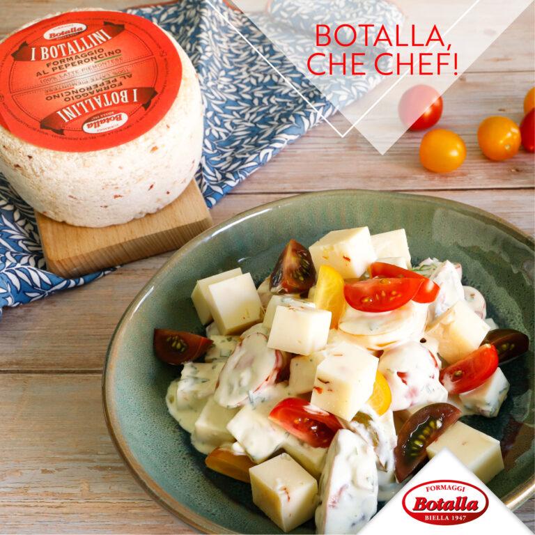 Insalata di formaggio al Peperoncino